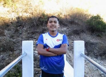 Roque Luis inscrito en la carrera Cerro Rojo Golden Trail Series