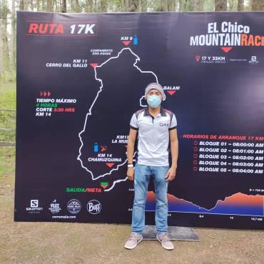 Dos jóvenes corredores oaxqueños regresan de la justa trail de El Chico Mountain Race, Hidalgo